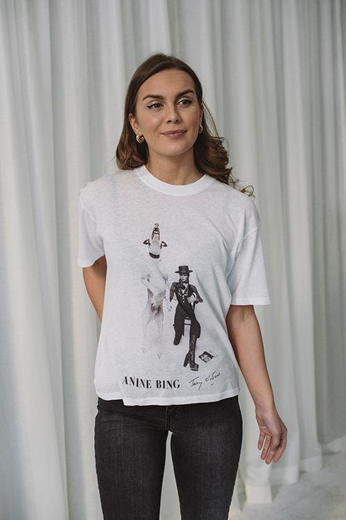 Anine Bing Ida Tee ABxTO David Bowie t-skjorte