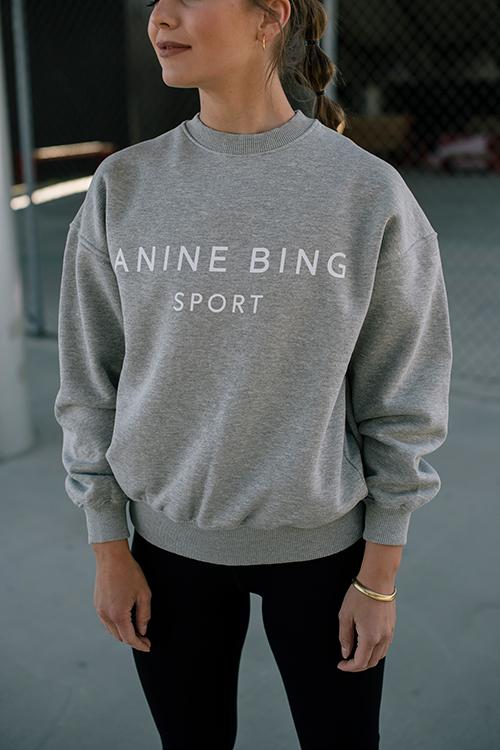 Evan Sweatshirt Heather Grey
