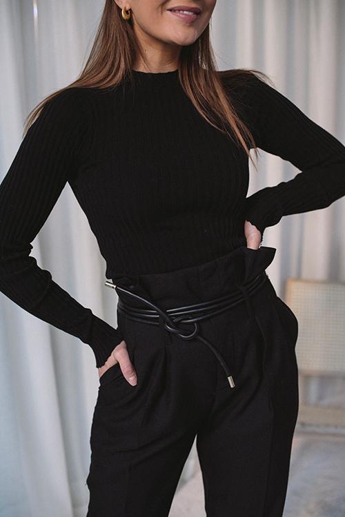 Gaby Belt Black