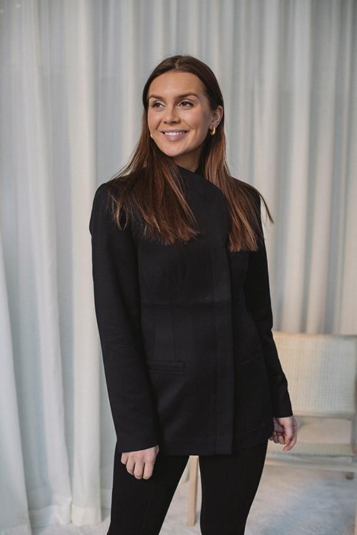 Anine Bing. Heidi Blazer Black dressjakke