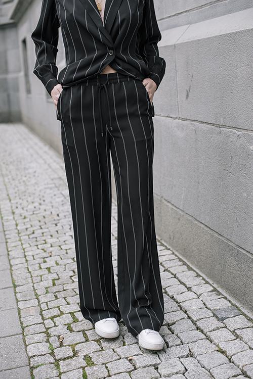 Anine Bing Isabella Pants Pinstripe bukse