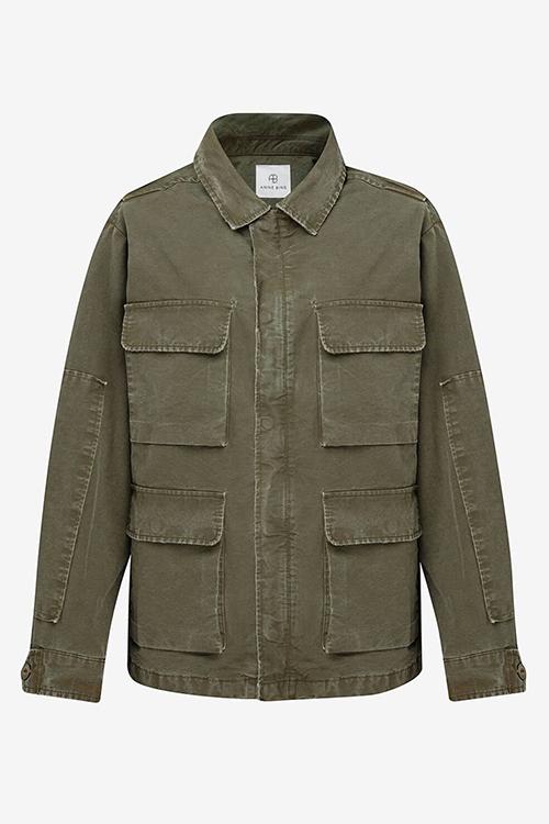 Anine Bing Joey Jacket Green jakke
