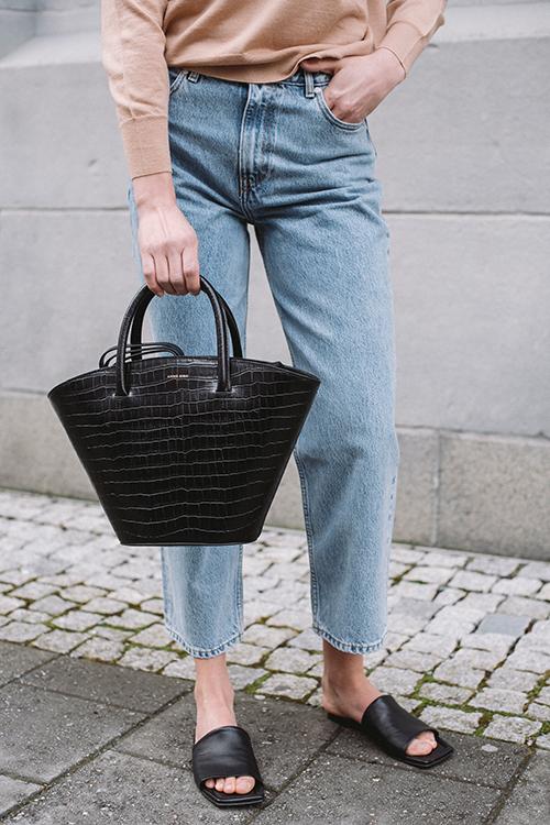 Mini Holland Bag Black