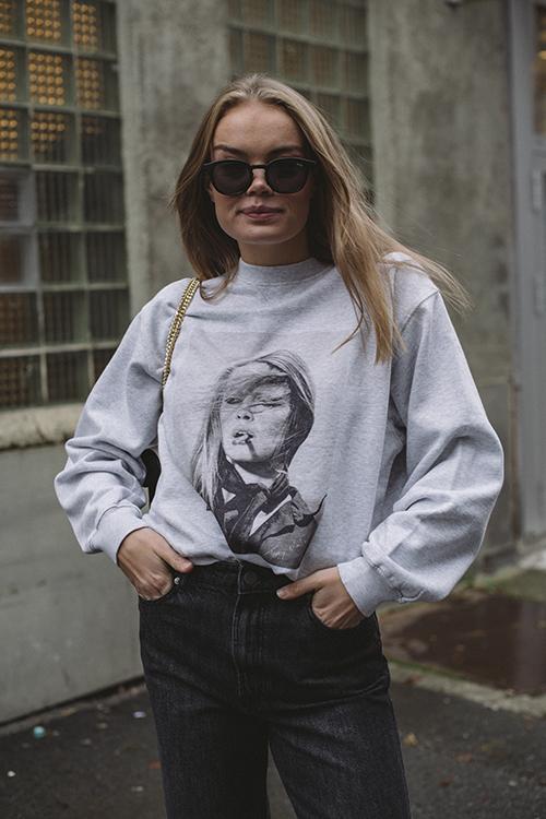 Ramona Sweatshirt ABxTO Heather Grey