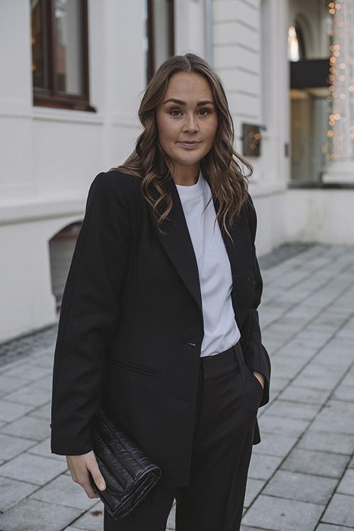 Anine Bing Robyn Blazer Black dressjakke