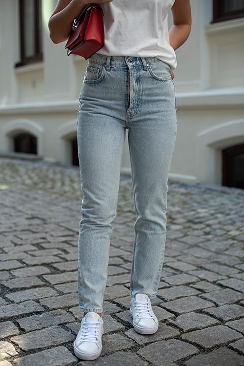Anine Bing Sonya Jean Easy Blue bukse