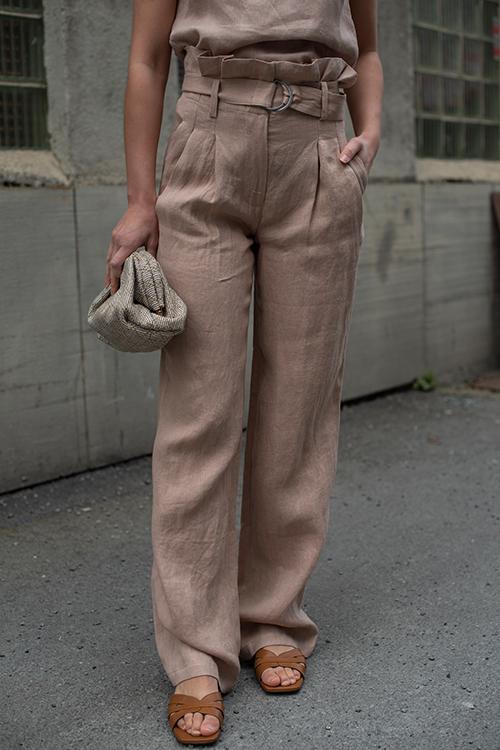 Thalia Trouser Mauve