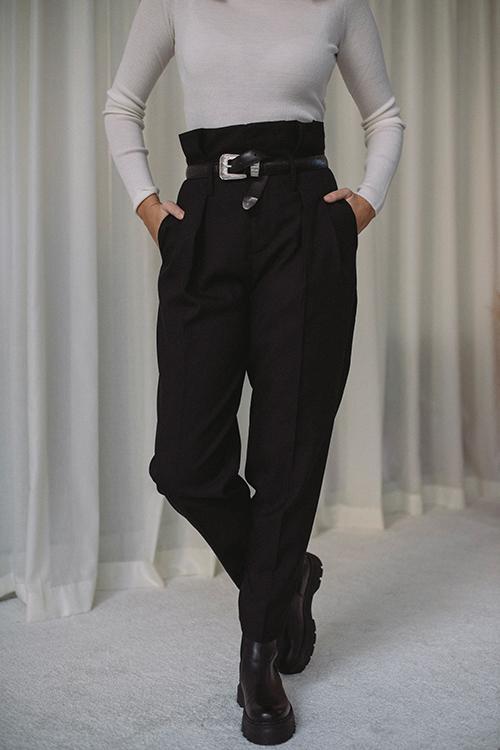 Yves Trouser Black