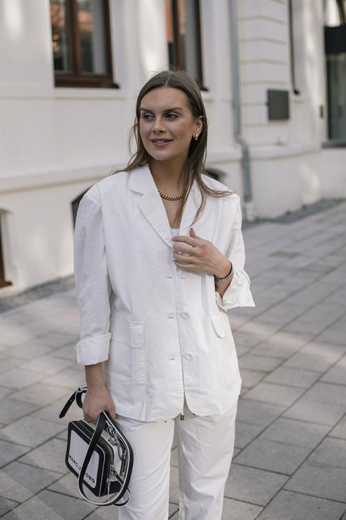American Vintage Giony Blazer White dressjakke