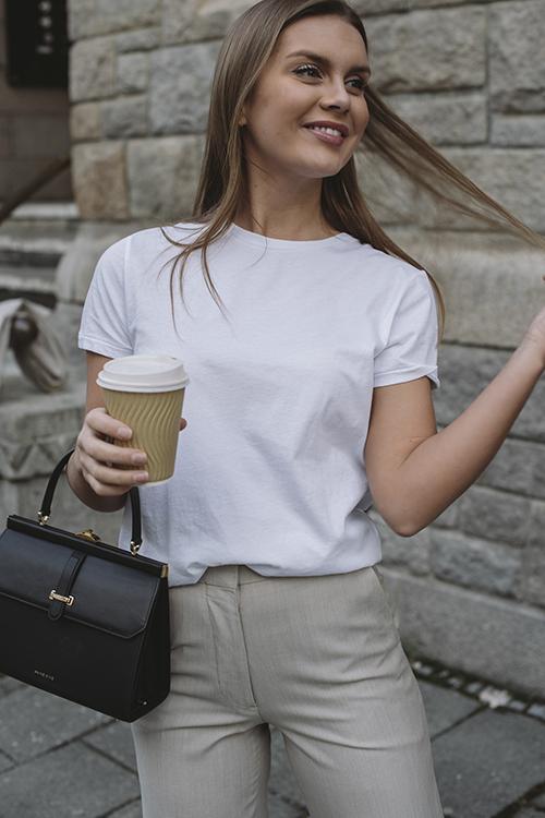 Vegiflower t-Shirt White