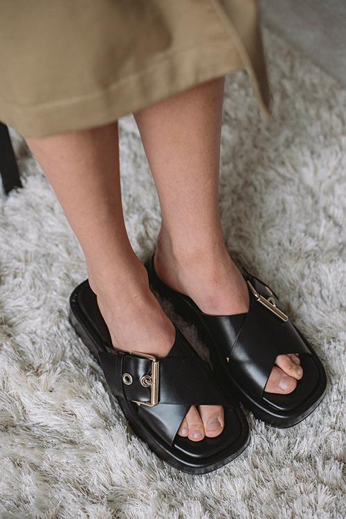 Anny Nord Detox Sandals Black sandaler