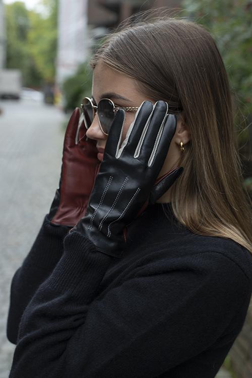 Becksöndergaard Anahita Glove Black hansker