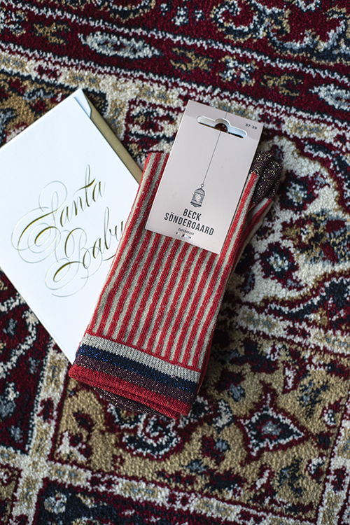 Becksöndergaard Dicte Red Love sokker