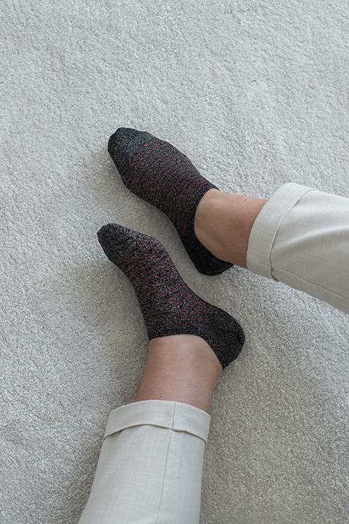 Becksöndergaard sneakie stripe sock night sky sokker