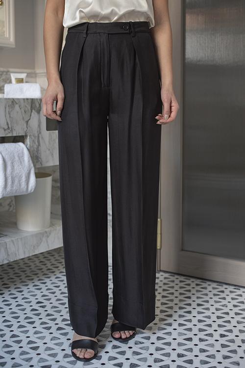 Enil Trouser Black