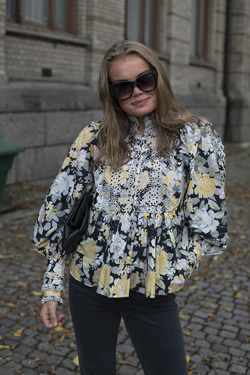 byTIMo Broderie Anglaise Blouse Blooming bluse