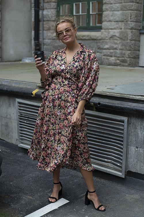 byTiMo Delicate Wrap Dress Field kjole