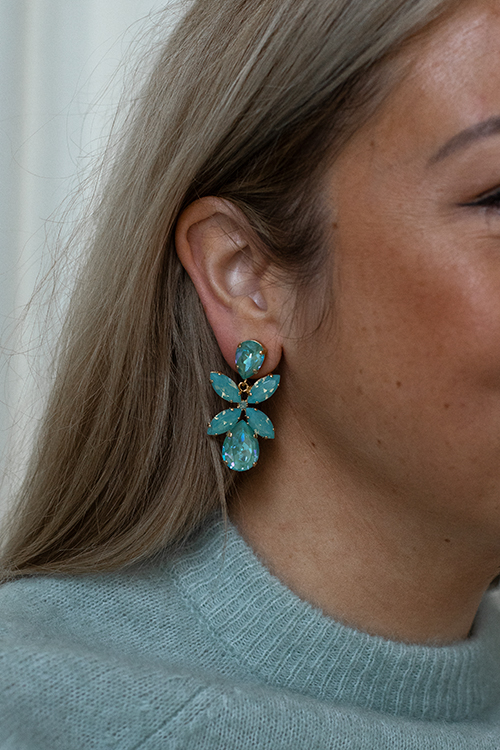 Caroline Svedbom Dione Earrings Silky Sage Delite Combo øredobber