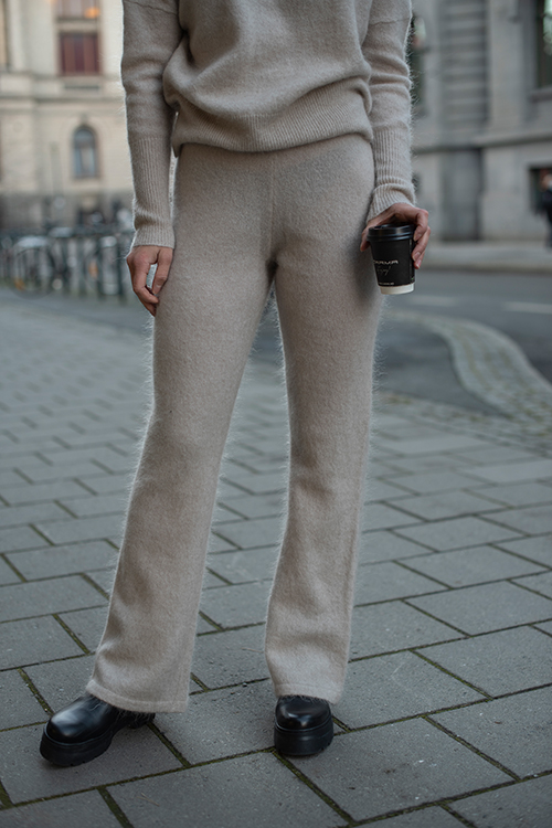 Soft Pant Warm Grey
