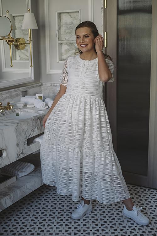 Camilla Pihl One Dress White kjole
