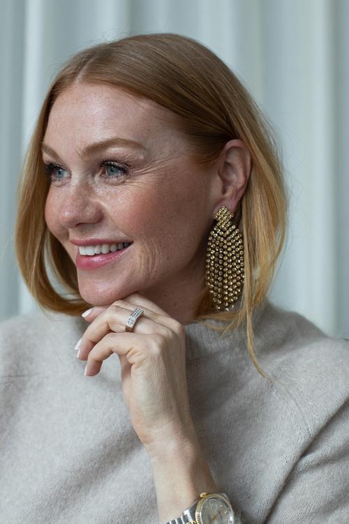 Caprice Priscilla Earrings Gold øredobber