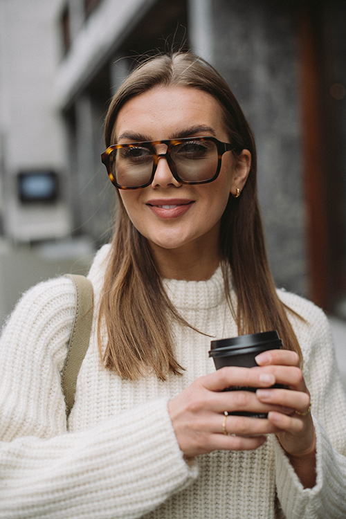 Corlin Eyewear Gela Green solbrille