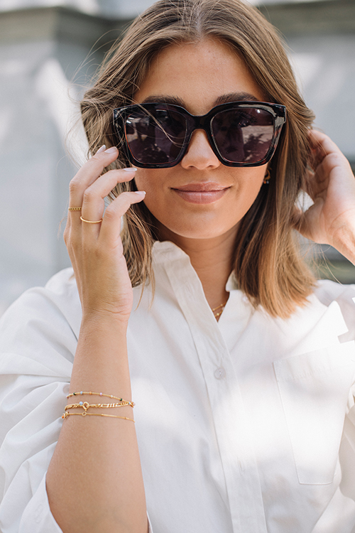 Corlin Eyewear Modena Havana solbriller