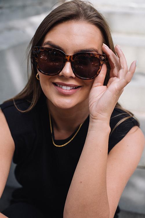Corlin Eyewear Monza Brown solbriller
