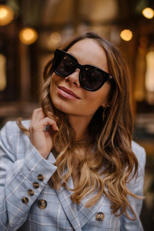 Corlin Eyewear Monza Black solbriller