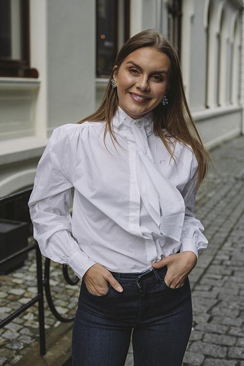 Custommade Maluka Shirt White bluse