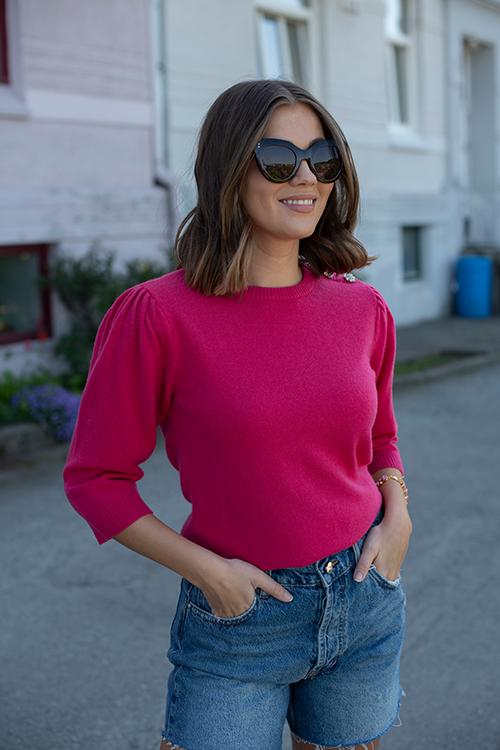 Custommade Tiro Sweater Chateau Rose genser