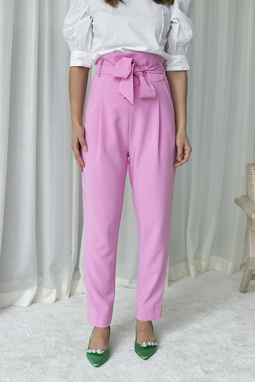 Custommade Pinja Pant Sweet Lilac bukse