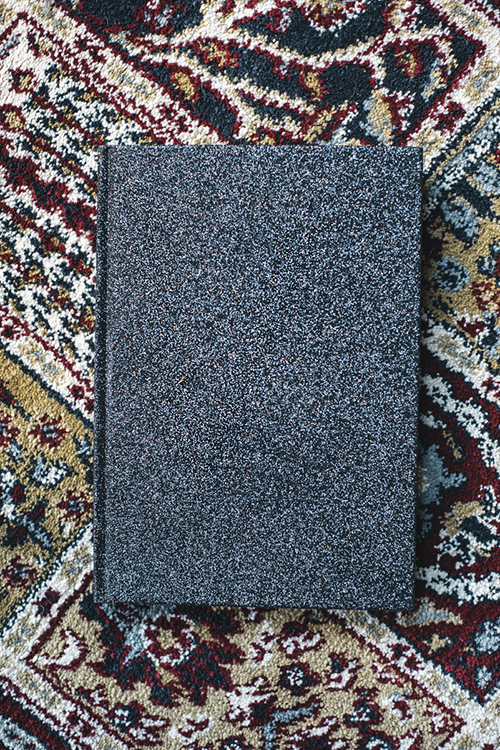 Dark Glitter Notebook A5 Glitter Black notatbok