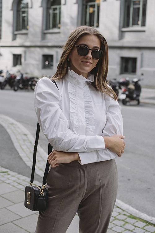 DAY Birger et Mikkelsen Kar Shirt White bluse