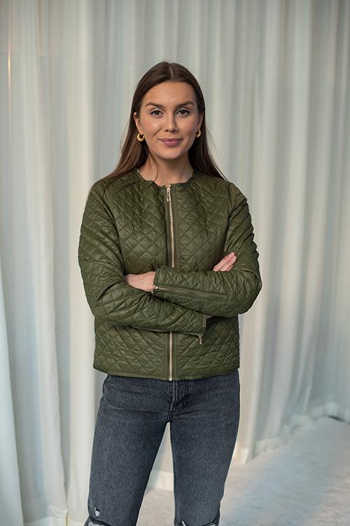 DAY Birger et Mikkelsen Rainy Jacket Deep Olive jakke