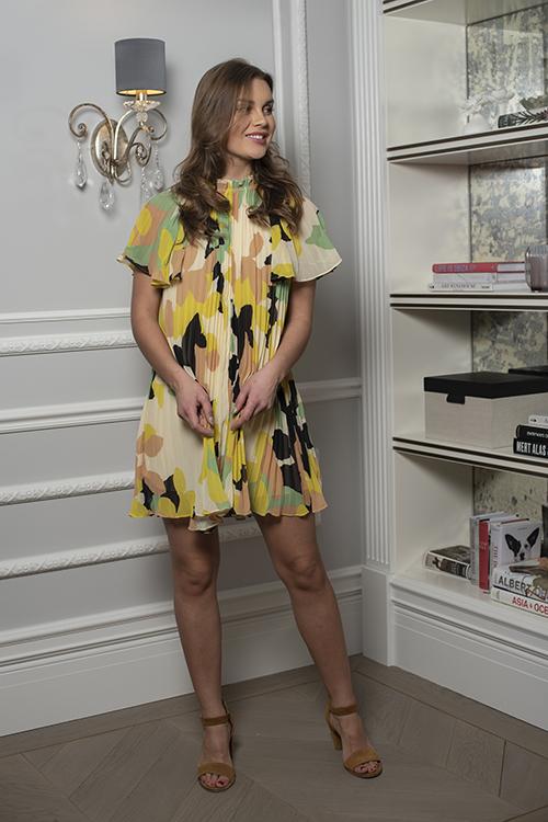 Day Birger Et Mikkelsen Riva Dress Sweet Lime Kjole
