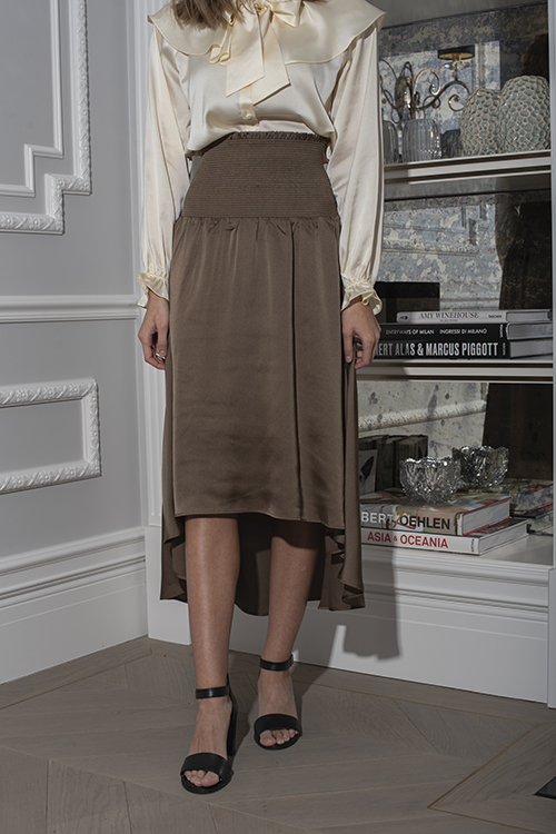 Lauren Long Skirt Khaki