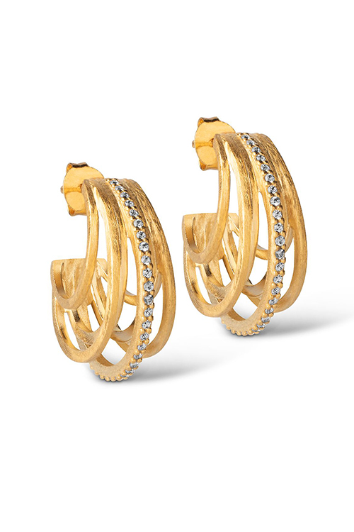 Estrid Hoops Gold