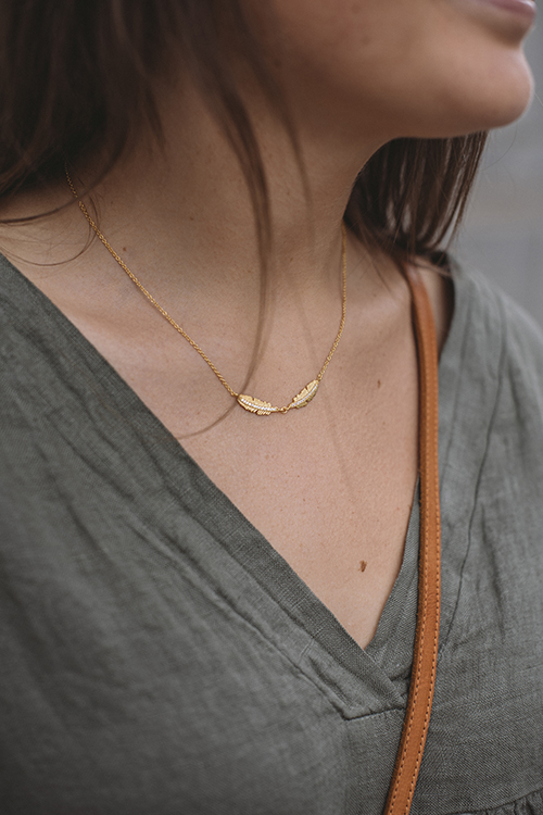 Fira Necklace Gold