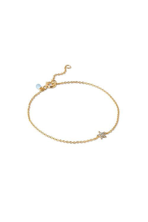 Enamel Copenhagen Fleur Bracelet Gold armbånd