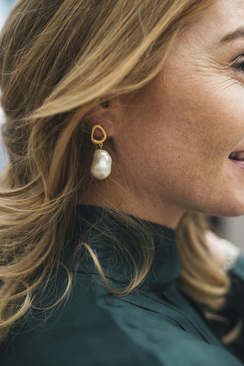 Earring Baroque Pearl