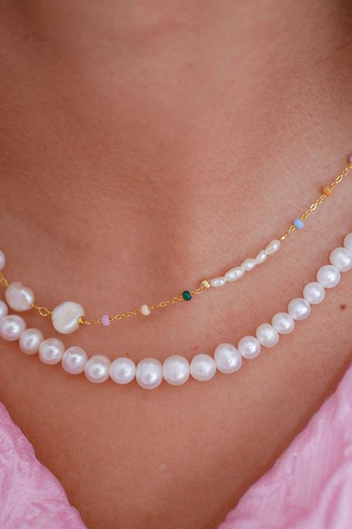 Lola Perla Necklace Dreamy/Pearl