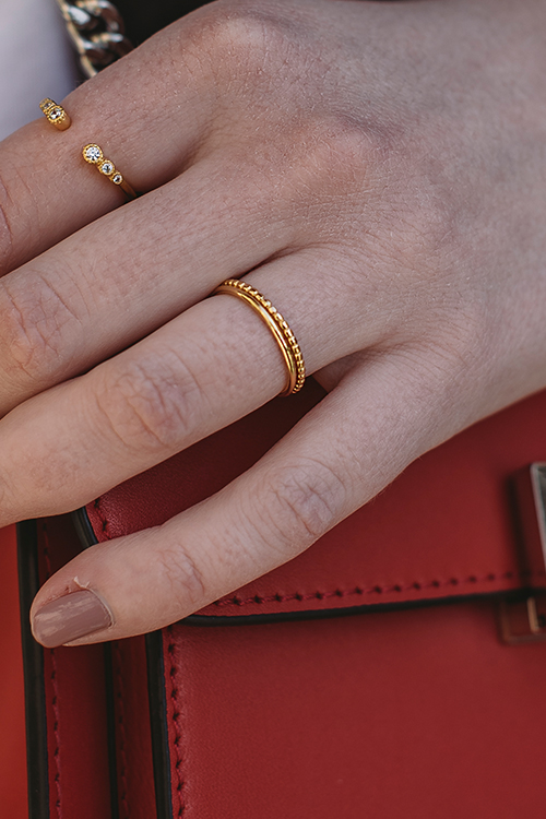 Enamel Copenhagen Simple Ring Gold