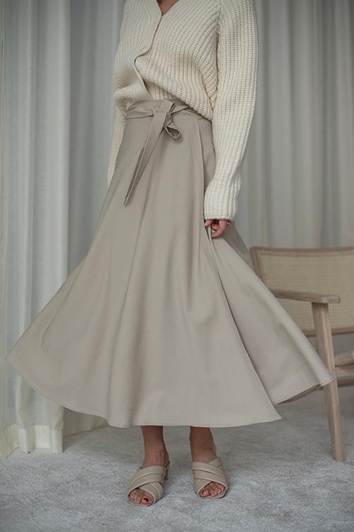 Envelope1976 Lembongan Skirt Light Beige skjørt