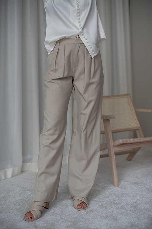 Monaco Pants Light Beige