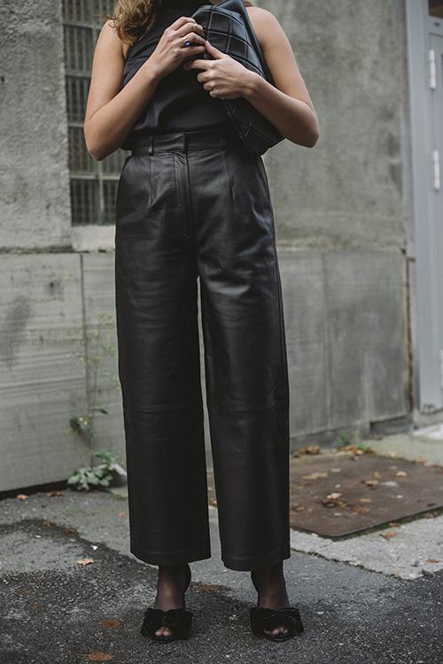 Envelope1976 Oslo Pants Black skinnbukser