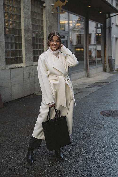 Pisa Long Coat Cream