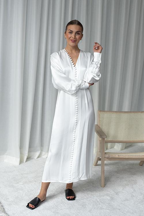Envelope1976 Cannes Dress White kjole