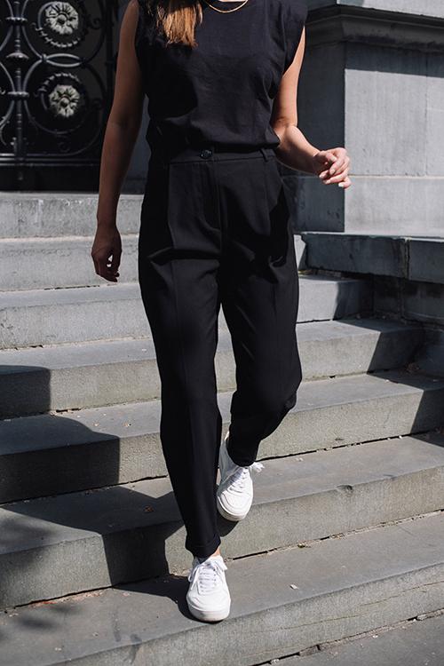 Fiveunits Malou 285 Slash Black dressbukse