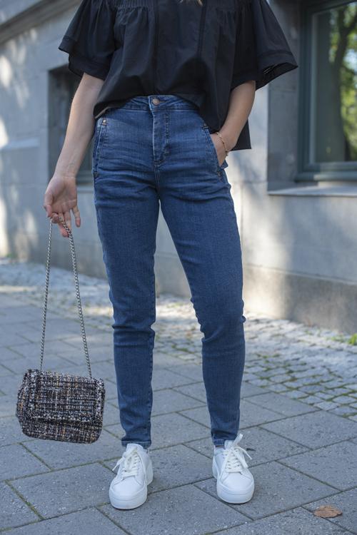 Fiveunits Jolie 455 Rush Blue Raini jeans